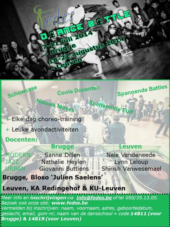 Flyer_Dance Battle2014