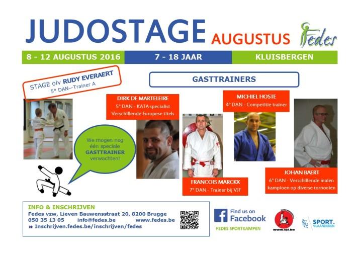 Flyer Judo 1604 met special guest