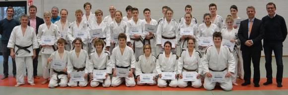 Foto diploma-uitreiking