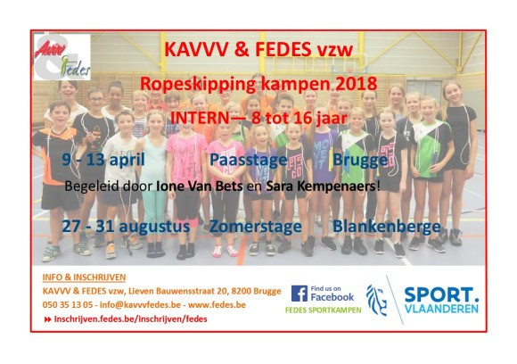 Ropeskipping flyer 2018