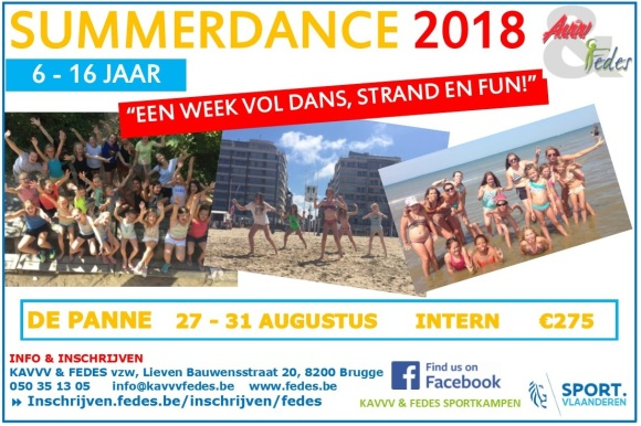 Summerdance Flyer 2018