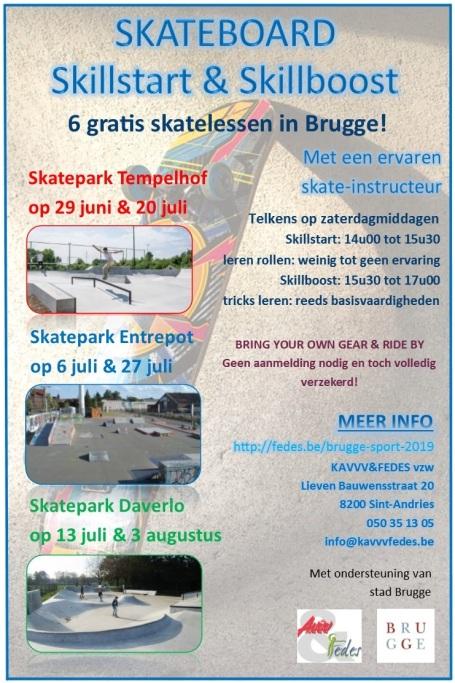 Flyer Skateboard Skillstart en Skillboost