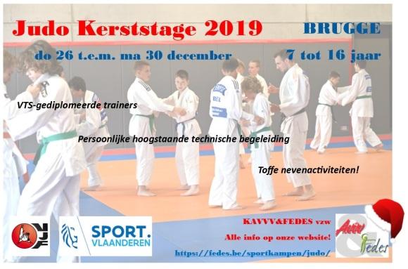 Flyer judo kerst (bijgesneden)
