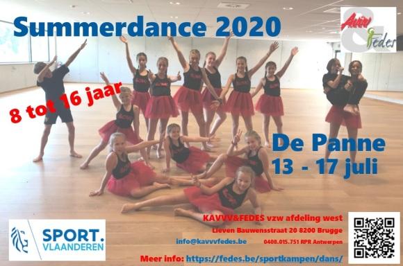 Flyer Summerdance 2020