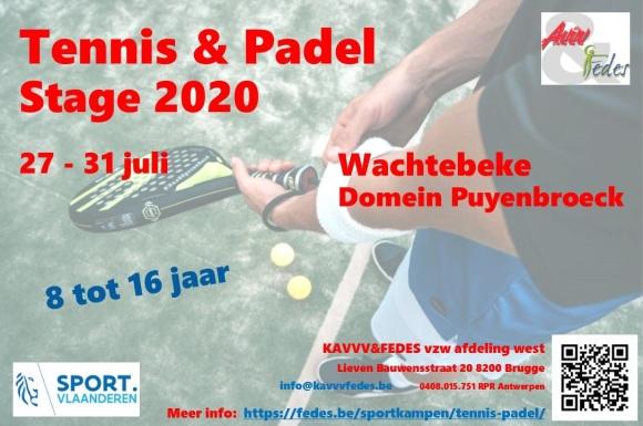 Flyer2 Tennis & Padel 2020