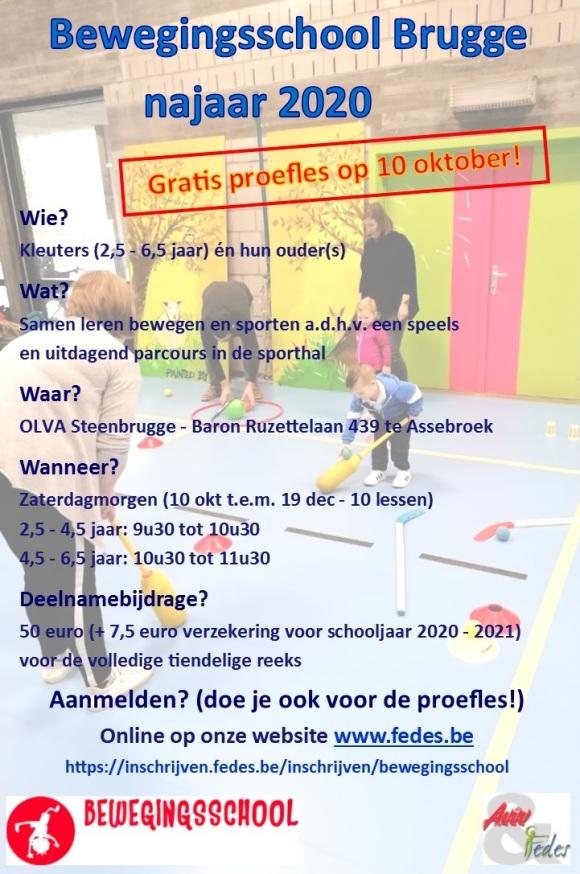 BWS flyer Brugge nj 2020