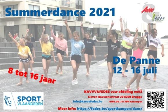 Summerdance 2021 Flyer