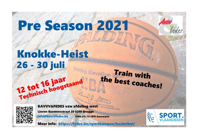 Pre Season 2021 Flyer