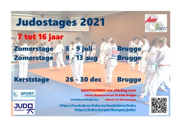 Judostages 2021 Flyer
