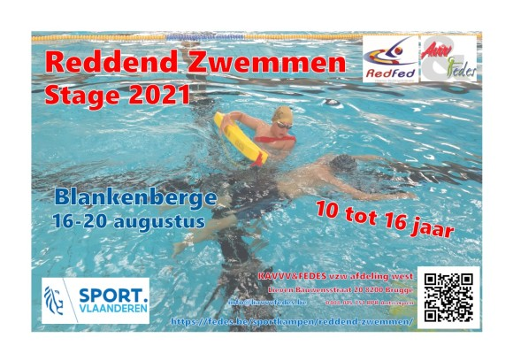 Reddend Zwemmen Flyer 2021